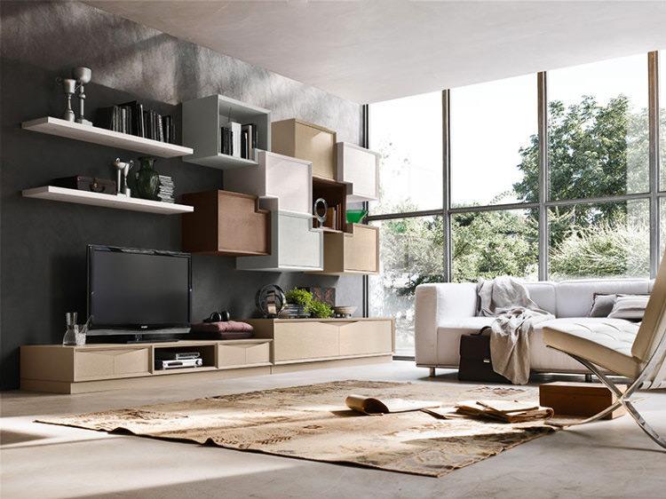 Arreda il tuo soggiorno con stile moderno e di design - Accademia del mobile ...