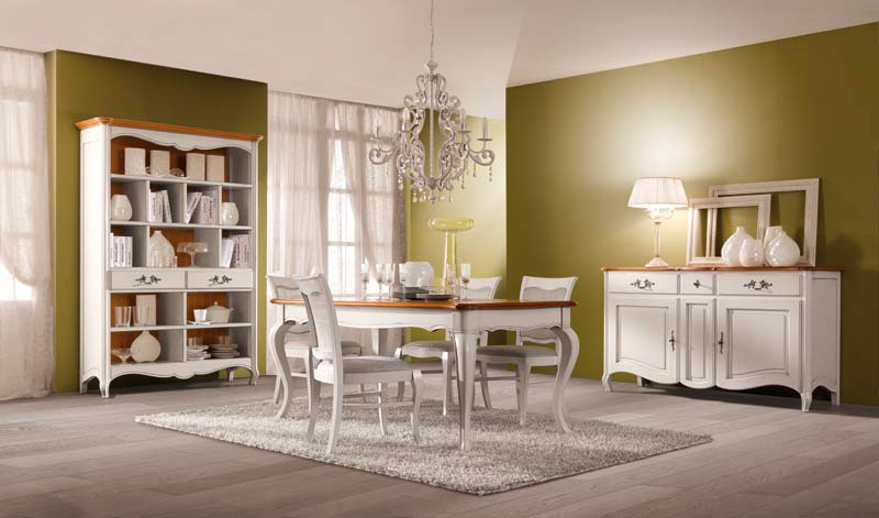 Arreda il tuo soggiorno con stile classico e shabby chic for Arredamento chic classico