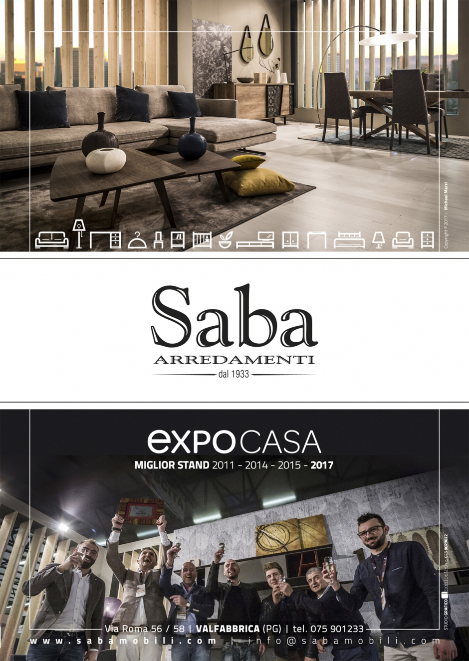 Miglio stand EXPO Casa 2017